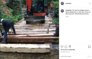 Sample Instagram photo of bridge building